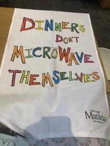 18. Matilda tea towel