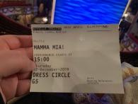 26. New Mamma Mia ticket