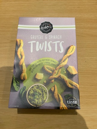 Ardern's Gruyere and Spinach Twists 1