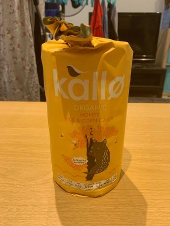 Kallo Honey Rice and Corn Cakes 1