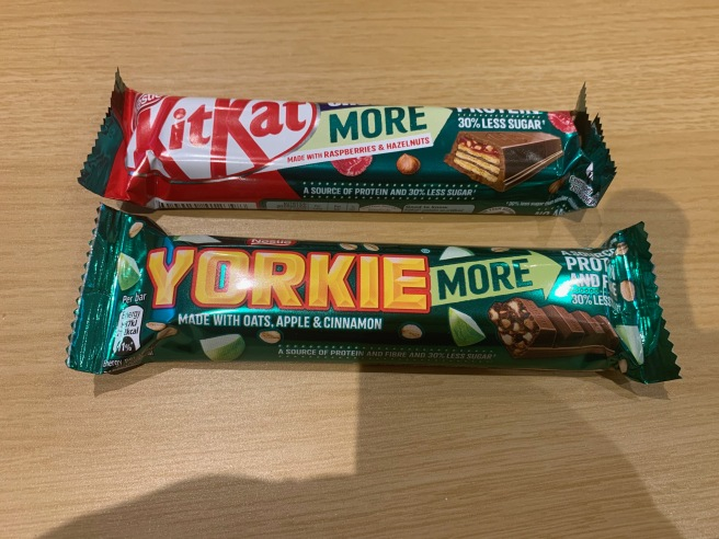 Kit Kat and Yorkie More